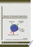 Materials for Biomedical Applications