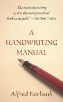 A Handwriting Manual