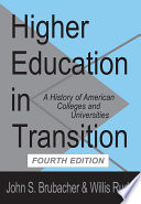 Higher Education in Transition Book PDF