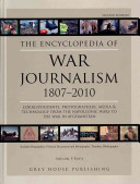 The Encyclopedia of War Journalism  1807 2010
