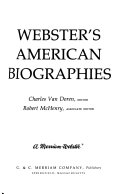 Webster s American Biographies
