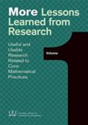More Lessons Learned from Research