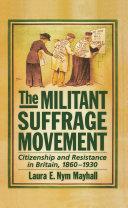 The Militant Suffrage Movement [Pdf/ePub] eBook