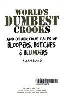 World s Dumbest Crooks