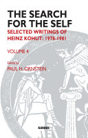 The search for the self : selected writings of Heinz Kohut. ...