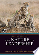 Cover of The Nature of Leadership