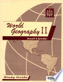 World Geography II