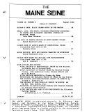 The Maine Seine