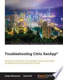 Troubleshooting Citrix XenApp