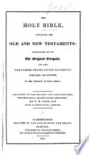 The Holy Bible Arranged In Paragraphs And Parallelisms With Annotations By T W Coit [Pdf/ePub] eBook