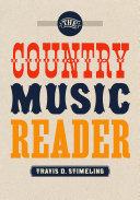 The Country Music Reader [Pdf/ePub] eBook