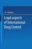 Legal Aspects of International Drug Control [Pdf/ePub] eBook