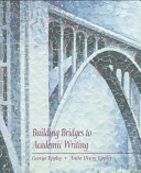 Building Bridges to Academic Writing Book