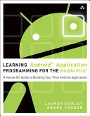 Learning Android Application Programming for the Kindle ...
