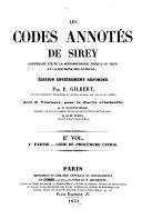 Les Codes annotés de Sirey