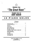 Selections from  The Great Race