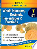 Whole Numbers Decimals Percentages And Fractions Year 7