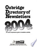 Oxbridge Directory of Newsletters