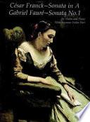 Franck's Sonata in A and Fauré's Sonata No. 1
