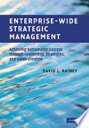 Enterprise Wide Strategic Management