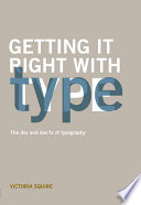 Getting it Right with Type Book