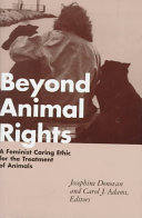 Beyond Animal Rights
