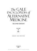 The Gale Encyclopedia of Alternative Medicine  D K Book