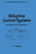 Pdf Adaptive Control Systems