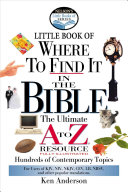 Nelson S Little Book Of Where To Find It In The Bible