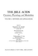 The Bile Acids  Chemistry  Physiology  and Metabolism Book