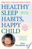 Healthy Sleep Habits  Happy Child  5th Edition Book