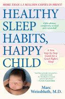 Healthy Sleep Habits  Happy Child  5th Edition