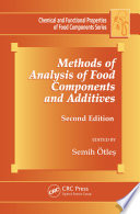 Methods Of Analysis Of Food Components And Additives Book PDF