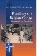 Pdf Recalling the Belgian Congo Telecharger