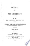 Letters on the Atonement Book