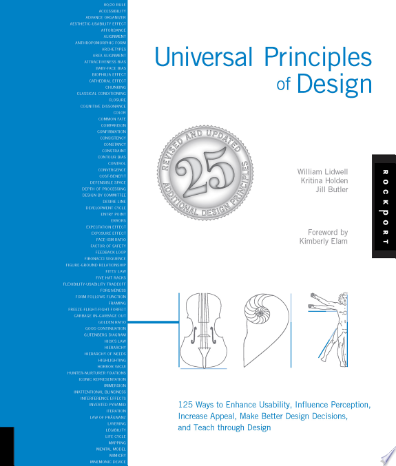 Universal Principles of Design, Revised and Updated