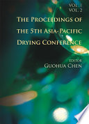 The Proceedings Of The 5th Asia Pacific Drying Conference