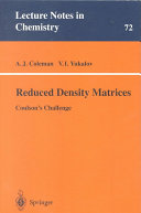 Reduced Density Matrices