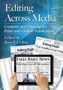 Editing Across Media