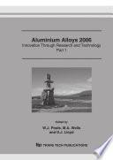 Aluminium Alloys 2006 Icaa10 Book PDF