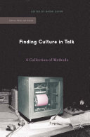 Finding Culture in Talk