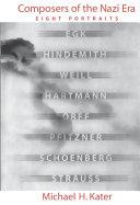 Pdf Composers of the Nazi Era Telecharger