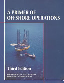 A Primer Of Offshore Operations Book PDF