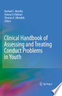 Clinical Handbook Of Assessing And Treating Conduct Problems In Youth Book PDF