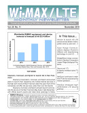 WiMAX Monthly Newsletter November 2010 [Pdf/ePub] eBook