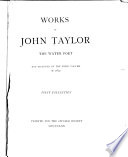 Works of John Taylor the Water-poet