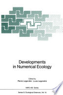 Developments in Numerical Ecology Book