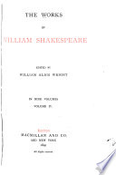 The Works of William Shakespeare Book
