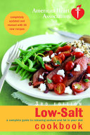 American Heart Association Low Salt Cookbook Book PDF