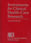 Instruments for Clinical Health care Research